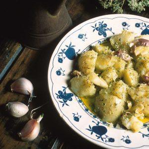 (Entrada) Batatas de molho frio
